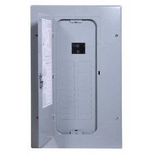 100 Amp 20 Main Breaker Box Load Electrical Panel Circuit Flush Surface Wall