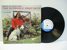 "B81: Jimmy Smith ""Back At The Chicken Shack"" Blue Note 61st St. 4117 RVG MONO"