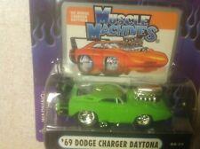 Muscle Machine 04-59 1969 Dodge Charger Daytona 1/64 Lime Green Blown 71161