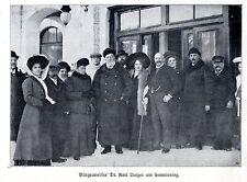 Bürgermeister Dr.Karl Lueger am Semmering Historische Aufnahme von 1910