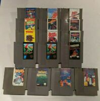 Nintendo NES Games - Punchout, Golf, Tetris - LOTS OF GREAT TITLES & PRICES!