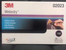 3M 02023 Wetordry Sheet, 1500 grit, 5 1/2 x 9 inch