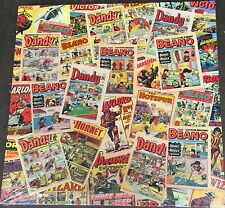 """Beano & Dandy Collage 15"""" x 15"""" Classic Canvas On A Wooden Stretcher Frame"""