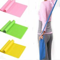 1.5m Rubber GYM Fitness Yoga Pilates Stretch Fit Resistance Exercise Band Strap