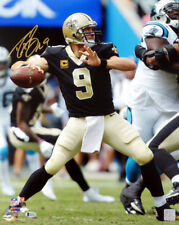 DREW BREES AUTOGRAPHED SIGNED 16X20 PHOTO NEW ORLEANS SAINTS BECKETT 135088