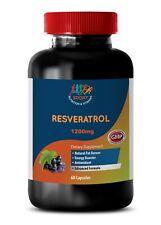 Metabolism - Resveratrol Supreme 1200 - Fat Oxidation - Antioxidant - 1 B 60 Ct