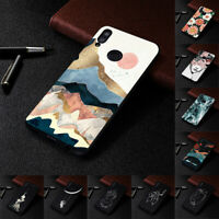 For Xiaomi Redmi Note 7 8 9 Pro 8T 9S Painted Case Soft Slim TPU Pattern Cover