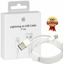 Genuine 1M Apple iPhone 5 5S 6 6S 7 8 plus X iPad Lightning To USB Charger Cable