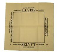 Selvyt Genuine Universal Polishing Cloth - 35cm x 35cm - Boot Bulling Diddly