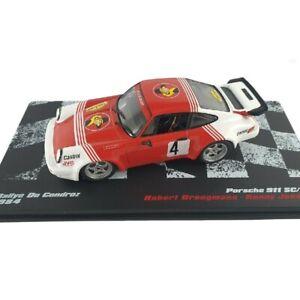Porsche 911 SC/RS Droogsmans Rally Condroz 1984 1:43 Ixo Altaya Diecast