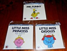 3 Mr Men/ Little Miss McDonald's Promotional toy Books  from 2016 ~ New! - Lot 2