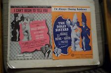 The Dolly Sisters 2 Movie Sheet Music BETTY GRABLE,JUNE HAVER 1945