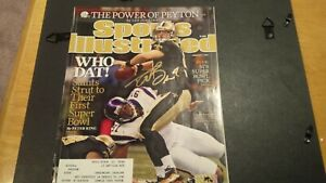 Drew Brees Signed Sports Illustrated