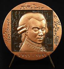 Médaille Wolfgang Amadeus Mozart pianist compositeur music composer Luis JIMENEZ