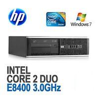 PC COMPUTER HP ELITE 8000 SFF Intel® Core 2 Duo E8400 4GB HD 1TB WINDOWS 7