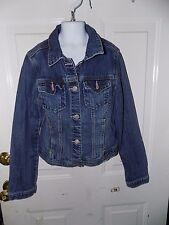 Gap Kids Button Front Jean Jacket Size XL Girl's EUC FREE USA SHIPPING