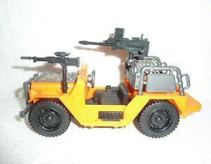 Orange & Gray Play Toy Jeep with Gun Mounts  S-25