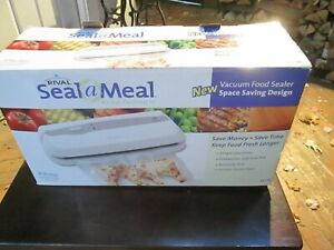 Rival Seal A Meal Vacuum Food Sealer VS106 (See Notes)