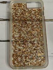 Casemate Gold Flakes Iphone 8 Plus Case-Preowned but Great