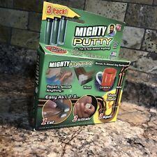 Mighty Putty 3 Pack Bond Repair Seal Metal Concrete Glass Wood Etc Nib