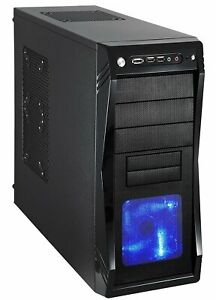 10-Core Gaming Desktop Tower NEW GAMING PC 8GB AMD GRAPHICS 500GB Solid State