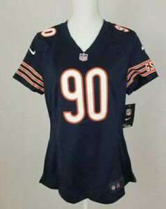 Chicago Bears Women's Jesery NFL Nike Julius Peppers 90 Navy Large NEW NWT L