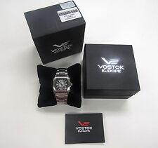 VOSTOK EUROPE GAZ-2OM POBEDA 2416/3345024 AUTOMATIC 802/3000 WATCH LNIB