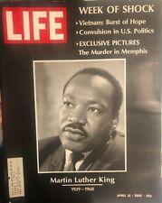 Martin Luther King Life Magazine Mlk Assassination Black History1968 Doors