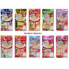 [INABA PETFOOD] CIAO Churu Cat Lick Snacks Fillet Flavor Cat Food 10sets (40pcs)