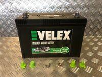 EVELEX  12V 110AH HD ULTRA DEEP CYCLE EXTRA LONG LIFE LEISURE BATTERY