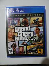 Grand Theft Auto V Premium Edition Gta 5 Ps4 (Sony PlayStation 4, 2013)