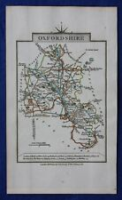 Original antique county map OXFORDSHIRE, John Cary, 1828
