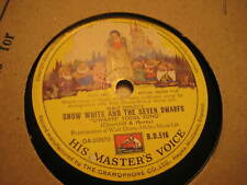 Disney Snow White orig. Filmmusik: Dwarfs Yodel Song/ Someday Prince '38 UK FM