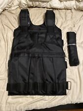 US 20/50kg Loading Adjustable Weighted Vest Fitness Training Exercise Waistcoat