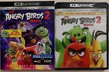 THE ANGRY BIRDS 2 MOVIE 4K ULTRA HD BLU RAY 2 DISC + SLIPCOVER IMAX ENHANCED BUY
