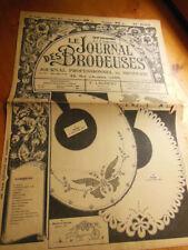 Le Journal des Brodeuses 1947 n° 628 chemisier fantaisie serviettes taie
