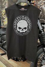 Harley-Davidson Men's G-Stress Dealer T-Shirt Vest Preston England