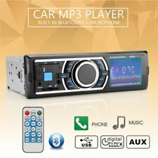 1 DIN Bluetooth In-Dash Car MP3 Player Touch Screen Stereo Radio FM/USB/SD