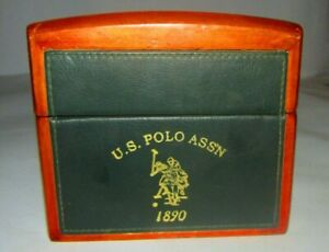 WOOD BOX U.S. POLO ASS'N 1890 WOOD BOX