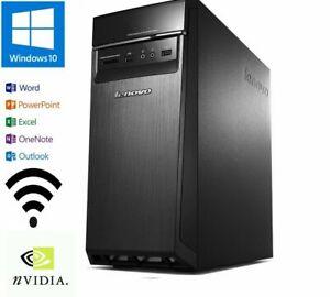 Lenovo H50-55 AMD A8-7600 3.1GHZ WIFI 16GB 1TB/ BT HDMI/GE GT720/W10/OFFICE