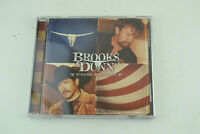 Brooks & Dunn Steers & Stripes Arista 2001 BMG Only In America Music Audio CD