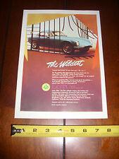 1964 LOTUS ELITE The Wildest  - ORIGINAL AD