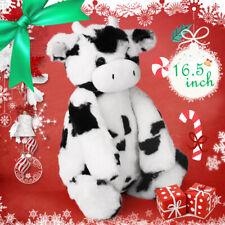 16'' Baby Plush Toy Doll Toy Stuffed Animal Cuddly Milk Cow Teddy Kids Xmas Gift