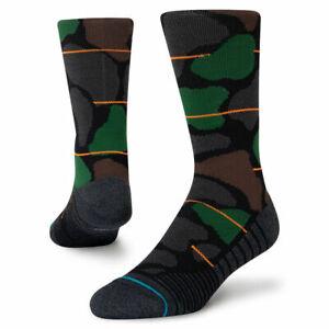 Stance Athletic Grit Crew Socks Size L (9-13)