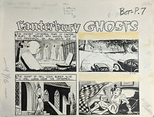 ORIGINAL ART, MIKE ROY, 1952 OUT OF THE SHADOWS #12 Canterbury GHOSTS 1/2 PG
