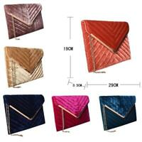 NEW Women's Designer Style Evening Clutch Bag Ladies Party Handbag