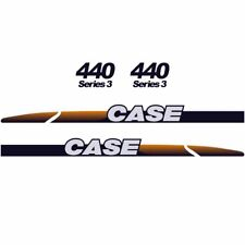 CASE 440 Decals Stickers Skid loader Repro kit