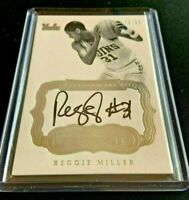 REGGIE MILLER 2017-18 Panini Flawless Coll Premium Ink On Card AUTO SSP #d 11/15