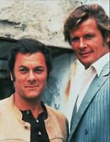 Tony Curtis / Roger Moore 8x10 color glossy photo