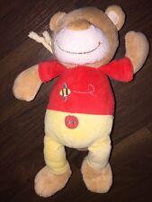 Spieluhr Babylove DM Plüschtier Teddybär Bear Honigbär Biene Rot Braun Gelb Beig